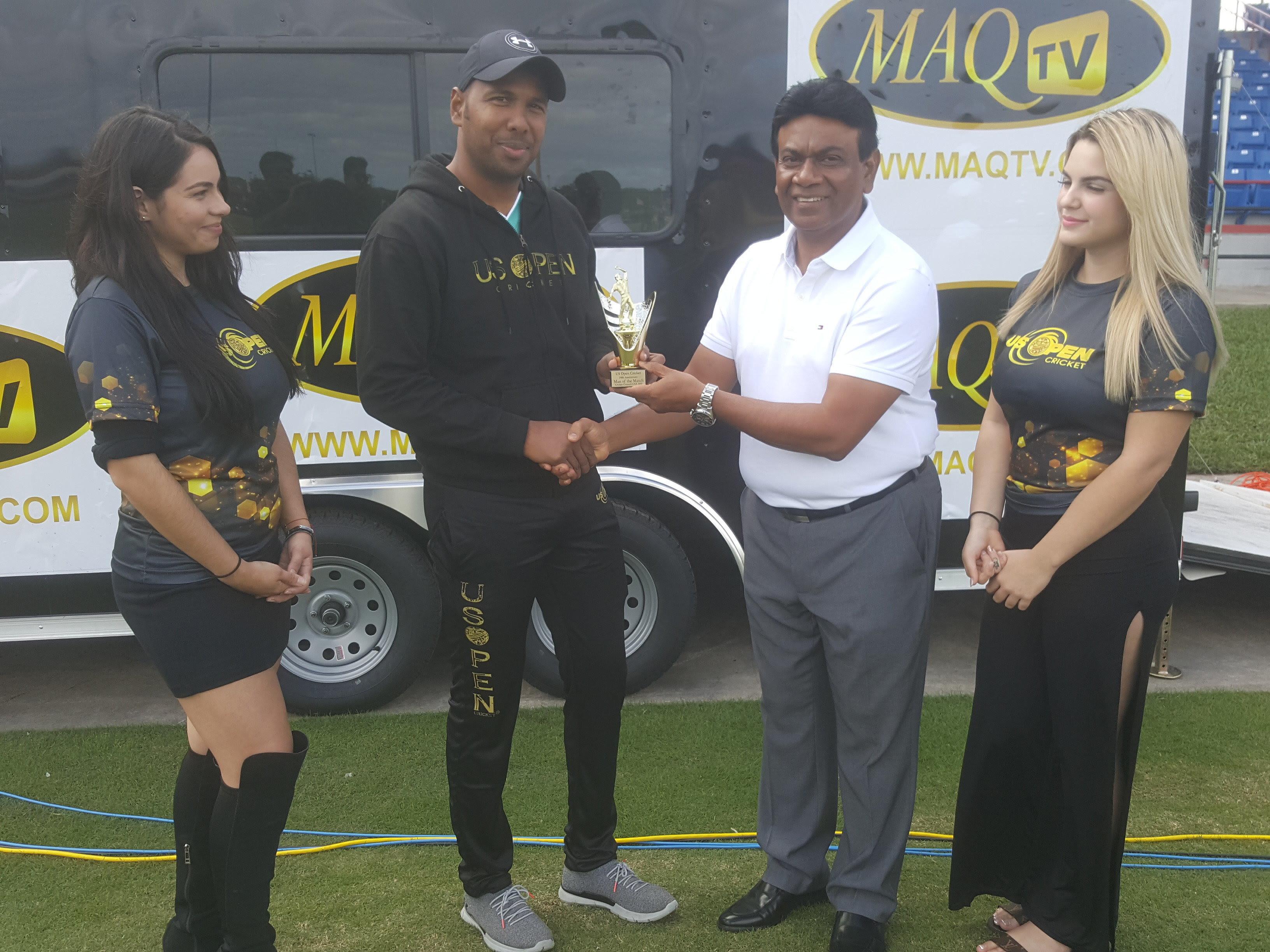 Samuel Badree creates world record at US OPEN Cricket