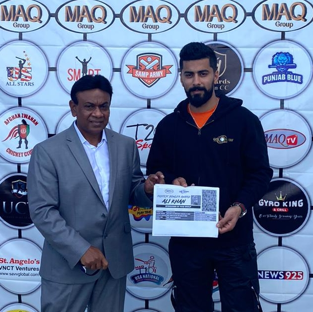 Ali Khan gets major prize from MAQGroup